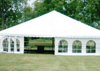 open ground tent